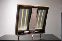 Afbeeldingsresultaat voor stacked quad esl 57 speakers