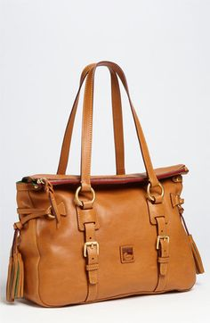 Dooney & Bourke 'Florentine' Vachetta Leather Satchel available at #Nordstrom