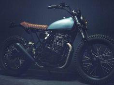 Honda Dominator (NX650) by Dust Motorcycles of Paris via CAFE...