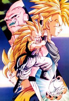 Dragon Ball Z Gotenks Super Saiyan 3 Vs Super Buu Dragon ball z gotenks super