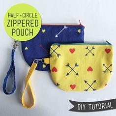 40 DIY Zip Pouch Tutorials on Polka Dot Chair Blog