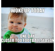 Can't wait for football season!