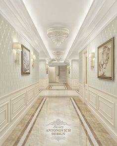 Mansion Interior, Luxury Homes Interior, Luxury Home Decor, Floor Design, Ceiling Design, Corridor Design, Home Design Living Room, Hallway Designs, Luxury Homes Dream Houses