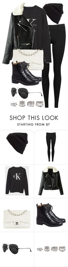 """""""Style #11683"""" by vany-alvarado ❤ liked on Polyvore featuring BP., Vince, Chanel, agnès b., Ray-Ban and Forever 21"""