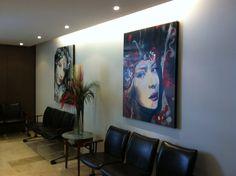 Lobby Decorative Paintings, South America, Flat Screen, Sculpture, Artist, Blood Plasma, Artists, Flatscreen, Sculptures