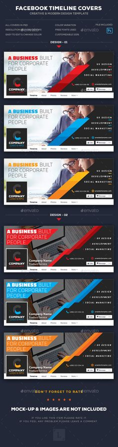 Corporate Facebook Timeline Cover Template Psd A ClassPintag