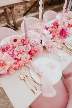 Hot Pink Weddings, Pink Wedding Theme, Pink And Gold Wedding, Wedding Goals, Wedding Themes, Wedding Colors, Dream Wedding, 26th Birthday, Pink Birthday