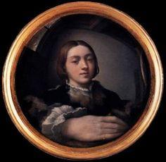 3.0.2 Parmigianino; Zelfportret in Bolle Spiegel