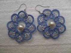 Pendientes con abalorios: Fotos ideas DIY - Pendientes ganchillo y perlas