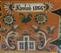 Os Kiste malt av Annanias Tveit.
