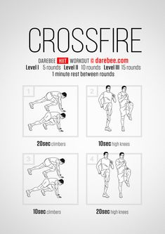 Crossfire workout.