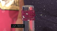 HERE COMES RACHEL DOWN TO BIDDERS ROW WITH A DESIGNER BRACELET! LISA FREEDE'S HIP, CLASSIC COUTURE JEWELRY LINE INCLUDES THIS AUTHENTIC RUBY BRACELET WITH CUBIC ZIRCONIA ACCENTS. #PriceIsRight #Ruby #Bracelet #Designer #Accessorize