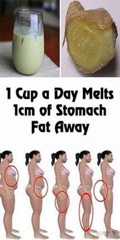 1 Cup a Day Melts 1cm of Stomach Fat Away!   Healthy Life Fusion