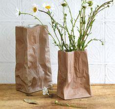 #rosenthal #TapioWirkkala #vase #paperbag #sculpture #artpottery #vintagedecor #midcenturymodern