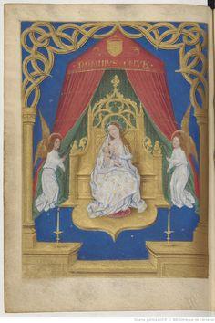 Livre d'heures, en latin et en français, à l'usage de Cambray   Gallica