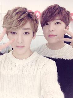 kEVIN TWITTER UPDATE 11/3/2015 ------- Wish Soohyun a happy birthday^^ He's the best leader ever 형이 있어서 항상 든든하고 형의 리더십을 정말 존경해염!  おかしら大好き♥︎ #27thSoohyunDay