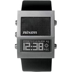 Nixon: The Dictator looks like the Dick Tracy watch.