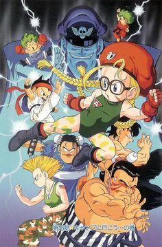 Street Fighter artwork Akira Toriyama