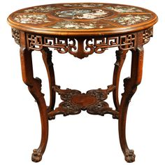 Gueridon Table attributed to Gabriel Viardot, Late 19th Century | 1stdibs.com
