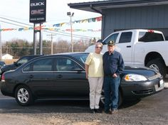 Gary and Roberta Schmid from Shobiner and their new 2013 CHEVROLET IMPALA! Congratulations and best wishes from Hosick Motors, Inc. and Sales Pro Bryan Hobbie.