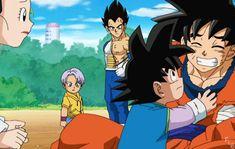 Chi chi, Goku and Goten Anime Dad, Anime Manga, Anime Guys, Dragon Ball Z, Akira, Goten E Trunks, Vegeta And Bulma, Goku Vs, Broly Movie