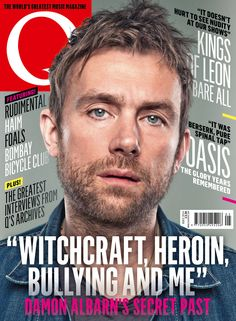 Here's the cover of our new issue, Q334, featuring Damon Albarn