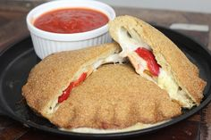 Calzones - with psyllium husk, almond flour and eggs http://mariamindbodyhealth.com/calzones/