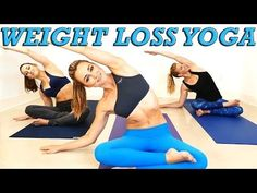 Yoga Weight Loss Challenge! 20 Minute Fat Burning Yoga Workout Beginners & Intermediate - YouTube