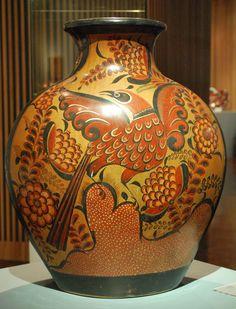Gorgeous Bruñido Jar by Jorge Wilmot, Tonalá, Jalisco, Mexico
