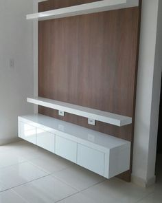 TV UNITS captioned ' ALWAYS IN VOGUE ' by @designindiankitchen.  DM & Contact us for a dedicated design & product specification.  M -… Tv Console Modern, Modern Tv, Modern Living, Rawson Homes, Wall Mounted Media Console, Tv Wall Cabinets, Contemporary Tv Stands, White Tv Stands, Tv Unit Design
