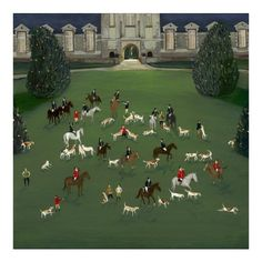 Jenni Murphy - Out Foxed - limited edition print
