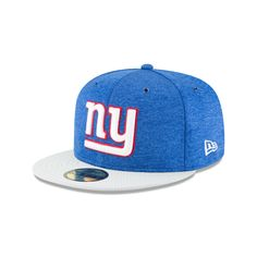 aa82579d3e9 NEW YORK GIANTS OFFICIAL SIDELINE HOME 59FIFTY FITTED 3 quarter left view  Sports Fan Shop