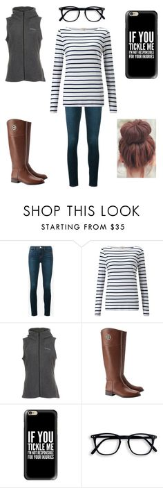 """""""Sunday afternoon"""" by a-hidden-secret ❤ liked on Polyvore featuring Frame Denim, Jigsaw, Columbia, Tory Burch and Casetify"""