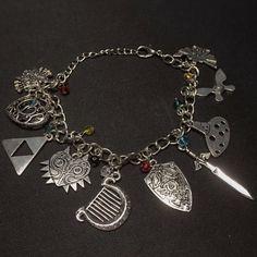 Zelda Charm Bracelet