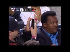 Yankees Fan Gets All Up In The Face Of Pedro Martinez To Snap Photo