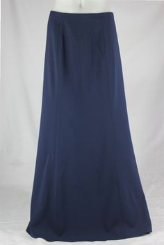 BACK IN STOCK Classic Panels Gray Long Skirt, Sizes 8-18 ...