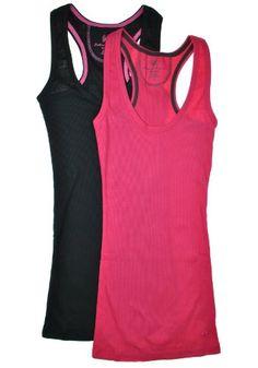 2 Pack: Racerback Ribbed Tank Tops « Clothing Impulse