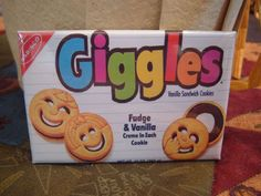 Giggles cookies!!