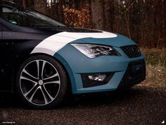Seat Leon 5f FR Vollfolierung Design Digitaldruck Tuning