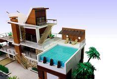 LEGO Residence Point Dume #LEGO #LEGOMOC #LEGOMOCs #MOC #MOCs #Residence…