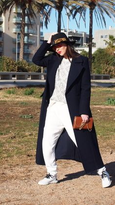 look total white para invierno normcore  girl