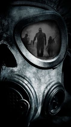 Skull Gas Mask - The iPhone Wallpapers