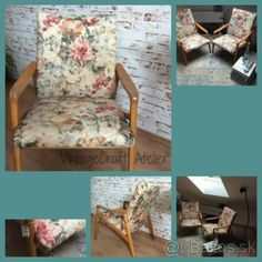 Shabby Chic kreslo Accent Chairs, Shabby Chic, Furniture, Home Decor, Upholstered Chairs, Decoration Home, Room Decor, Home Furnishings, Home Interior Design