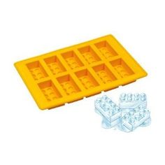 Oooh lego ice cube tray!!  Maybe I can use one for ice, and jelly, and food items, and get another to do crayons and soap.  Might be cheaper than making the moulds myself??