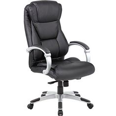 Genesis Large Executive Office Chair - Sleek  Neutral - http://freebiefresh.com/genesis-large-executive-office-chair-review/