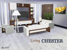 Sims 4 CC's - The Best: Joy's Living Chester