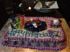 Goodbye cake for my friend