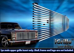 Stainless Steel 304 Billet Grille Grill Custome Fits 1981-87 Chevy C/K Pickup/Suburban/Blazer - http://www.caraccessoriesonlinemarket.com/stainless-steel-304-billet-grille-grill-custome-fits-1981-87-chevy-ck-pickupsuburbanblazer/  #198187, #Billet, #Chevy, #Custome, #Fits, #Grill, #Grille, #PickupSuburbanBlazer, #Stainless, #Steel #Exterior, #Grilles-Grille-Guards, #Grilles-Grille-Guards
