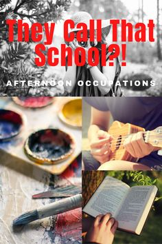 They Call That School?! Afternoon Occupations - Minivan Ministries