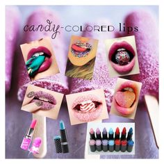 """Untitled #31"" by gracief-9 on Polyvore featuring beauty, Hard Candy and Lime Crime"